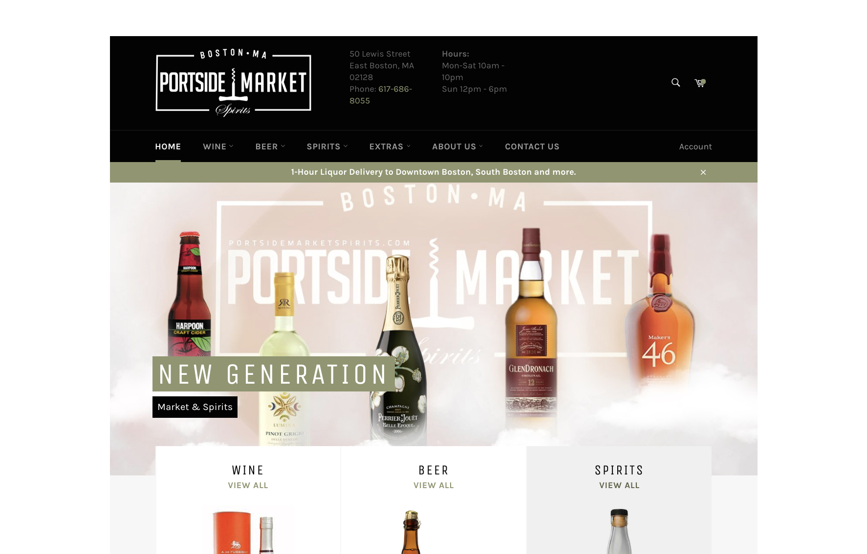 portsidemarketspirits.com